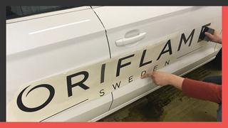 Брендирование корпоративного транспорта компании «ORIFLAME»