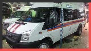 Брендирование транспорта спасательной службы «ЭкоСпас» (МЧС России)